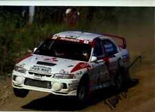Tommi Makinen Mitsubishi Lancer Evo IV 1000 Lakes Rally 1997 Signed Photograph 2