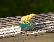 Lions Club International Norway Polar Bear Metal Enamel Pin Pinback by Sporrong