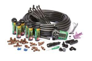 Automatic In-Ground Sprinkler System Kit Rotary Rain Bird 32ETI Easy to Install