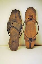 Antique shoes 1780 rare working girl shoes museum pattens WILL BE ON PAWN STARS