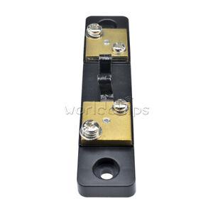 DC 75mV 20A Current Shunt Resistor For Amp Ammeter Panel Meter FL-2 New