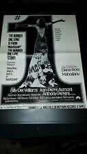 Diana Ross Mahagony Rare Original Promo Poster Ad Framed!