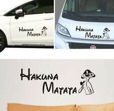 Hakuna Matata Tattoo 60x20cm Wandtattoo & Aufkleber Auto Wohnmobil Bus Wand