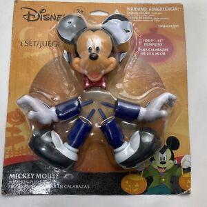 Disneys Mickey Mouse Pumpkin Push In Dracula Halloween Decoration