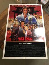 Tai-Pan 1986 Original Movie Poster Adventure
