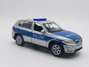 BMW X5 Police Car by Welly - Excellent Condition