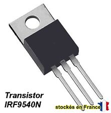 transistor MOSFET IRF9540N / IRF9540 / IRF9540NPBF boitier TO-220 100V 23A.C31.6