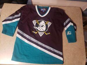 Vintage Starter Anaheim Mighty Ducks  Youth Jersey Size XL