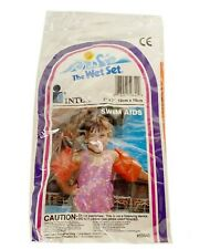 The Wet Set by Intex Swim Aids Orange Swimmies