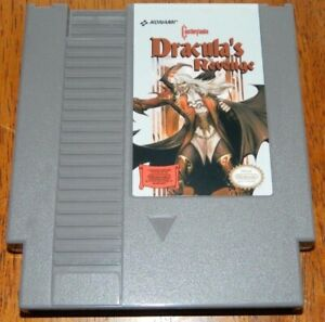 Castlevania: Dracula's Revenge rom hack platform video game cart NES Nintendo