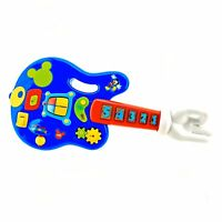 Disney Mickey Mouse Clubhouse Guitar Electronic Toy Musical Instrument fwo vgc