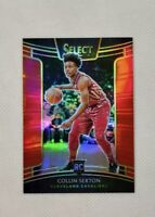 2018-19 Select Red Prizm Concourse /199 Collin Sexton RC Rookie #75 Prizms