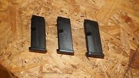 3 - Glock 43 - factory NEW 6rd 9mm magazines mags clips     (G171)