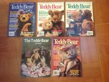 Teddy bear and Friends magazine 5 issues