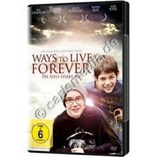 DVD: WAYS TO LIVE FOREVER - Die Seele stirbt nie - Über Krankheit + Sterben °CM°