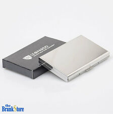 Stainless Steel Wallet Credit Card ID Holder Men Slim Money Prevent Theft Case
