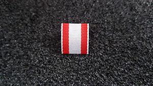 Ordenspange Österreich Weiß Rot altes System Bandspange Bandschnalle Feldspange