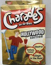 Charades In A Box Hollywood Edition