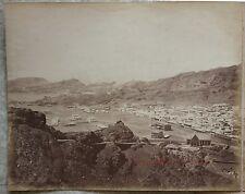 Panorama d'Aden Yémen Vintage albumine ca 1870