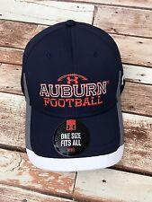 Auburn University Tigers FOOTBALL Blue War Eagle UA Men's OSFM Baseball Hat NEW