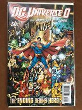 DC Universe #0 (Jun 2008, DC) VF/NM Signed Geoff Johns Autograph Larfleeze