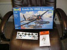 REVELL 1/32 - ARADO Ar 196-A3 Seaplane & Extra