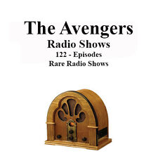 The Avengers 122 Rare Radio Shows - John Steed & Emma Peel - OTR