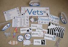VETS role play resource on CD- EYFS/KS1- animals, pets, people who help us