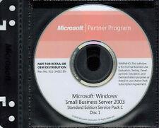 Microsoft Windows Small Business Server 2003 Standard Edition