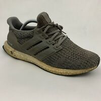 Adidas Ultraboost 4.0 Shoes Sneakers Grey Heather White F36156 Mens Size 10 US
