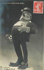 SM L'EMPEREUR DES INDES - carte satirique (maquette de Giris) (180)