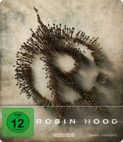 ROBIN HOOD/LIMITED STEELBOOK EDITION - EGERTON,TARON/FOXX,JAMIE   BLU-RAY NEUF
