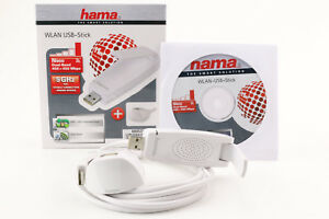 WLAN Adapter HAMA N900 USB Stick 450 MBit 5GHz Dual Band WiFi Adapter LAN 617
