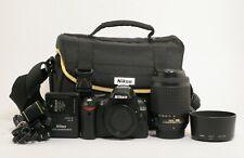 Nikon D60 10.2MP Digital SLR Camera w/ 55-200mm VR DX Lens Kit ; ABTS 438288