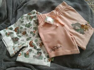 Primark Disney The Jungle Book Baby 6-9 Months Shorts x2