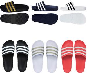 Adidas Mens Sliders Slides Adilette Slip Ons Sandal Slide Shoes Flip Flops Size