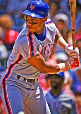 Darryl Strawberry Limited Edition Art Card 1 of 49 New York Mets