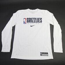 Memphis Grizzlies Nike NBA Authentics Nike Tee Long Sleeve Shirt Men's Used
