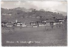 0256 TORINO RIBORDONE - MONTE COLOMBO - TALOSIO Cartolina FOTOGRAF. viagg. 1956
