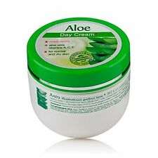 Aloe Face Day Cream W Natural Aloe Vera Juice Vitamins Moisture - 100ml