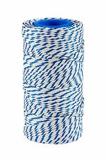 Blue & White Butchers Food Safe Rayon Craft Twine/String 125g Approx 65 Metres