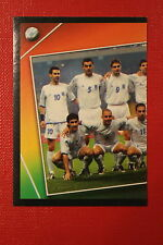 Panini EURO 2004 N. 28 HELLAS TEAM  NEW With BLACK BACK TOPMINT!!