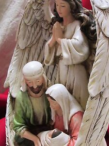 Angel Wings Guardian of the Holy Family