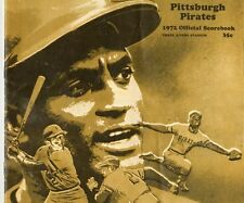 Roberto Clemente 3000 Hit/Last Hit Program 1972 Pittsburgh Pirates Ex Unscored