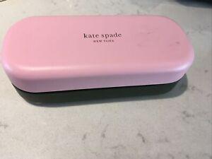 Hello Sunshine Kate Spade Sunglasses Glasses Hard Case Pink New