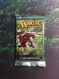 Mtg, 1x SEALED Fifth Dawn Booster Pack. English 2004