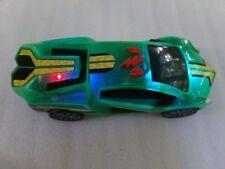 "9"" Plastic Toy Sports Race Car Engine Revs Light Up Noise Rolls U.S. Mom Seller"