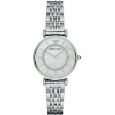 Emporio Armani Classic Quartz Diamond Accent AR1908 Womens Watch