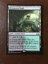 1x Overgrown Tomb - Guilds of Ravnica MTG - M/NM