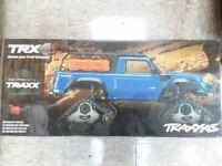 Traxxas 82034-4 TRX-4 Scale Rock Crawler (Blue) w/All-Terrain Traxx Free Tires!!